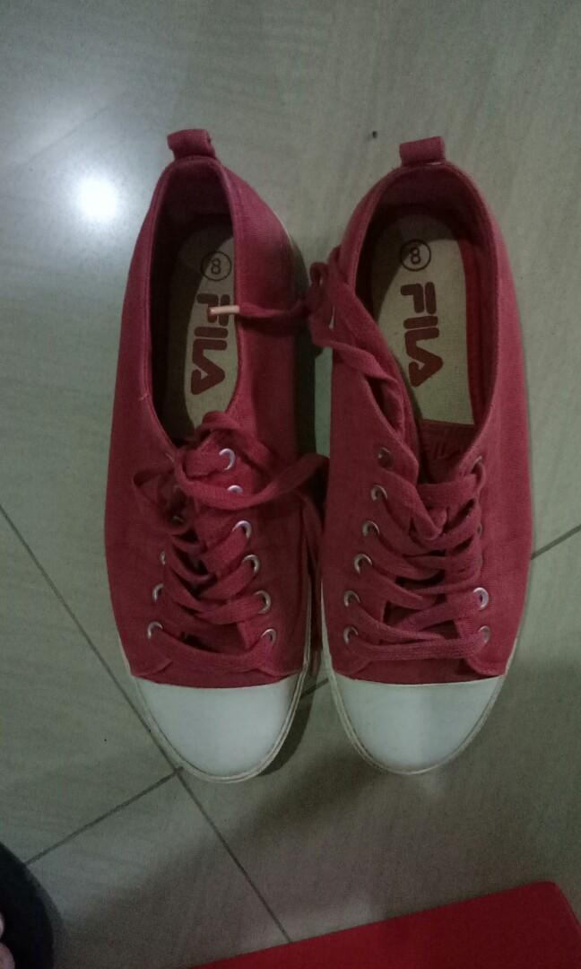 FILA RED SNEAKERS bought in australia