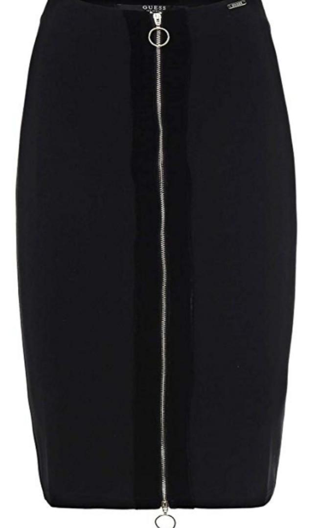 Guess zipper skirt