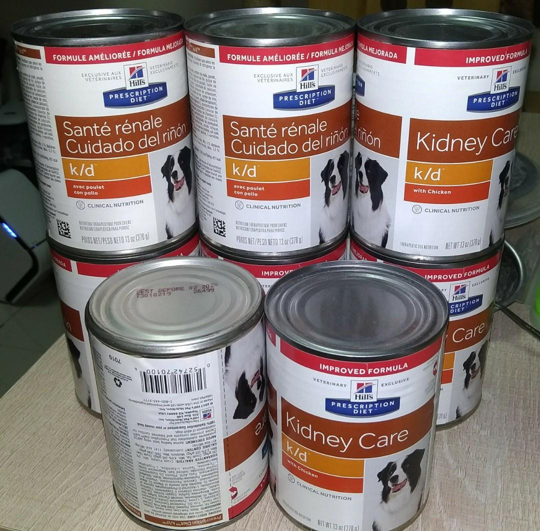 Hill's kidney care with chicken 13oz x 8 cans