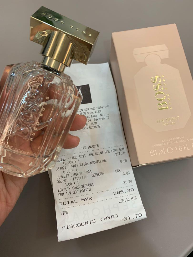 hugo boss the scent sephora