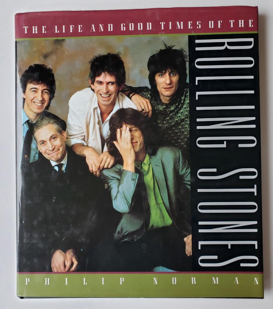 Life and Good Times of the Rolling Stones (1989, Hardcover)