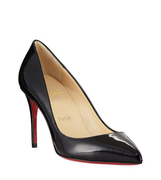 size 40 b3102 6feda Louboutin Pigalle Follies 85mm Patent Red Sole Pump, Women's ...