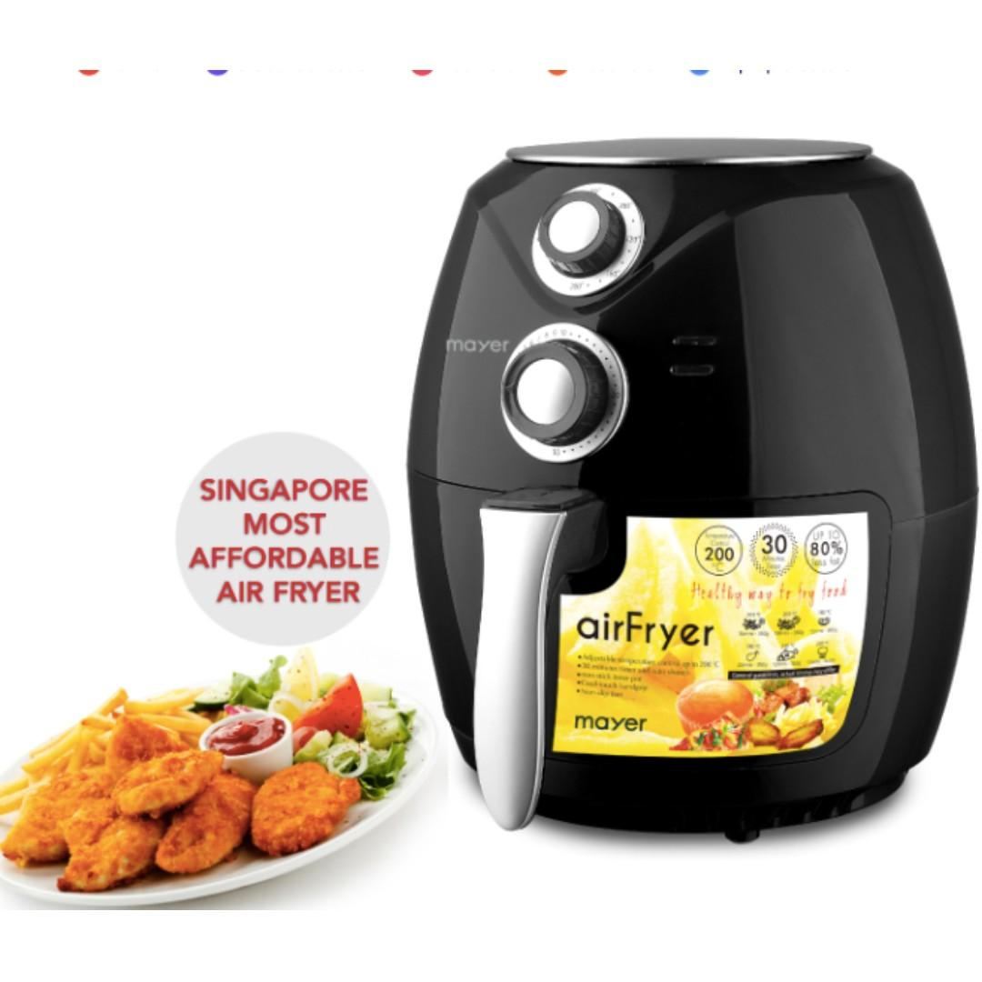 MAYER MMAF68  2.6L AIR FRYER with 1 year local warranty