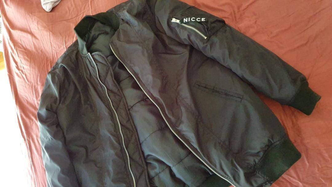 Nicce womens bomber jacket size medium