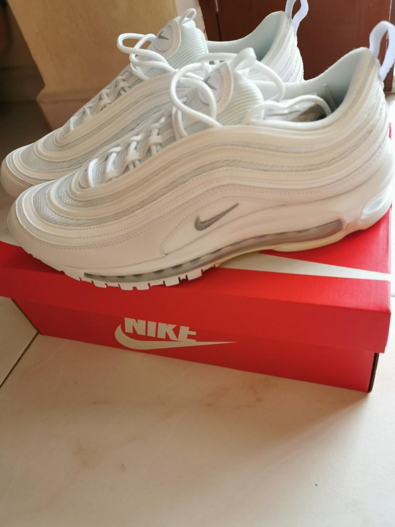Nike Air Max 97 white, Men's Fashion, Footwear, Sneakers on