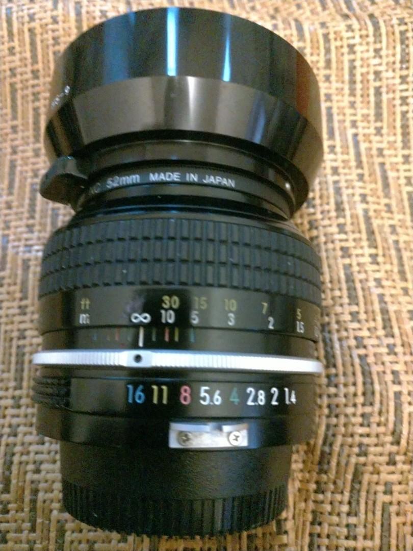 Nikon 50mm f1.4 non_Ai