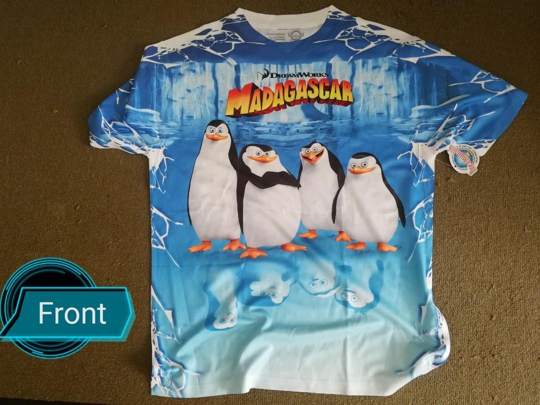 Origin T Shirt Dreamworks (Penguins)