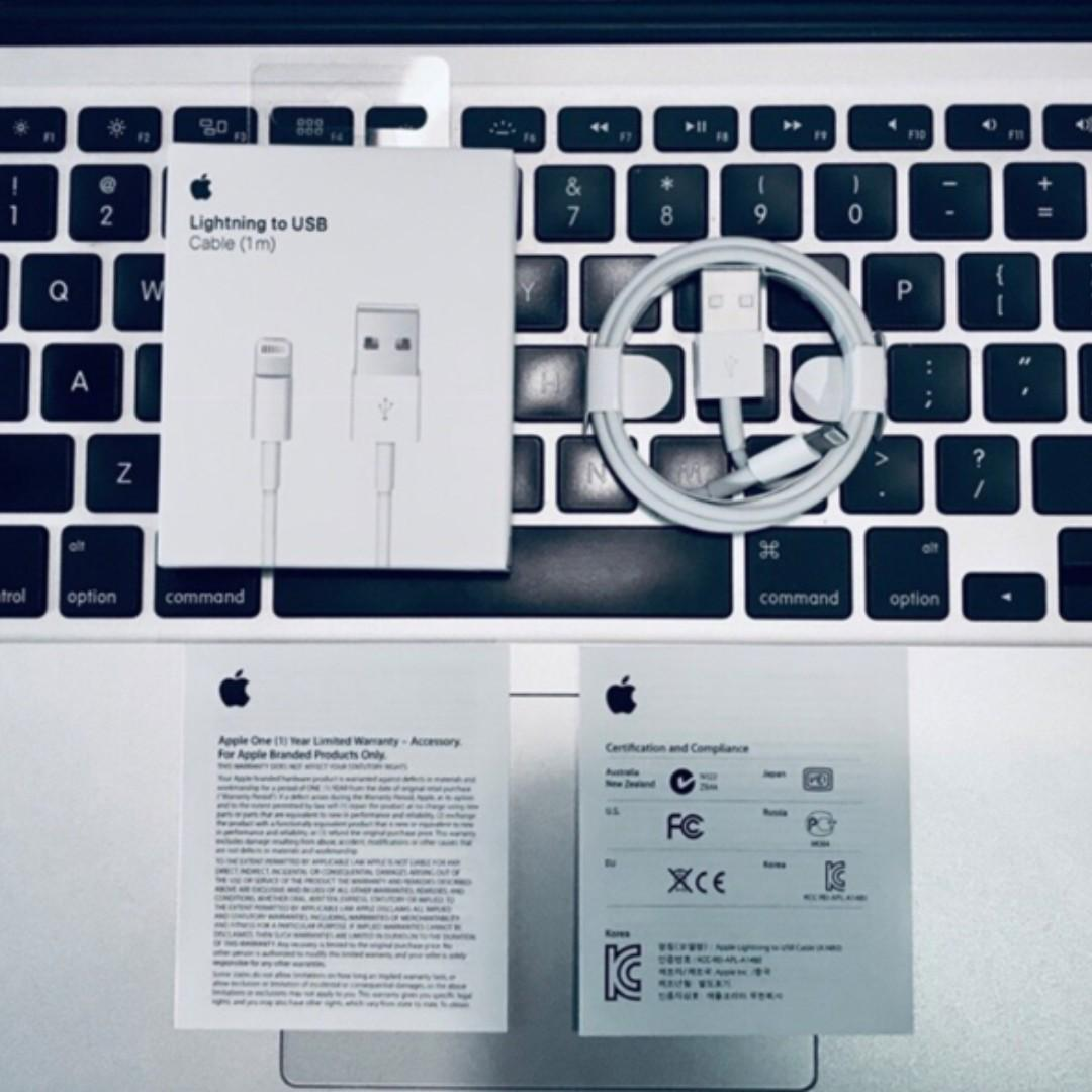 Apple USB TO LIGHTNING CABLE (1m)