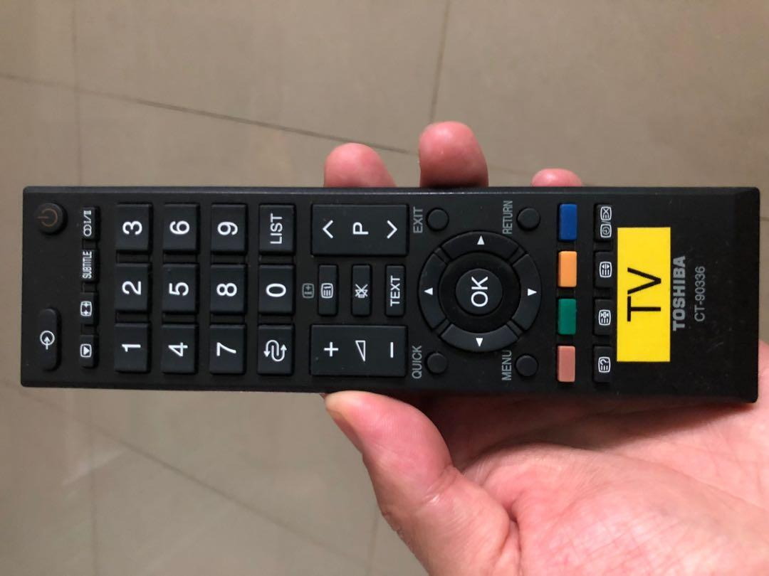 Original Toshiba TV remote controller