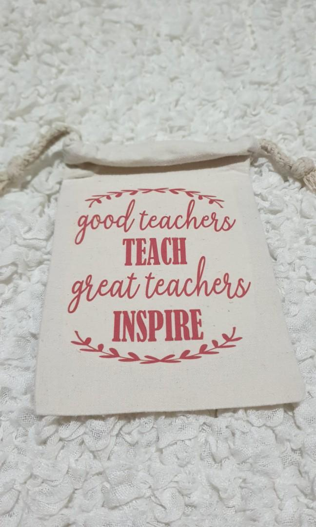 Personalised Pouch Personalised Teacher's day Children's Day Wedding Any events Gifts