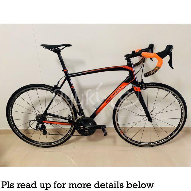 Polygon Strattos S5 Road Bike (Size 56), Bicycles & PMDs
