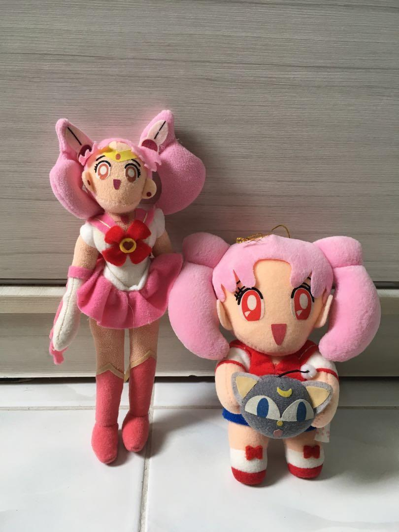 [Price for 2]Sailor moon Chibi Moon Vintage small Plushies