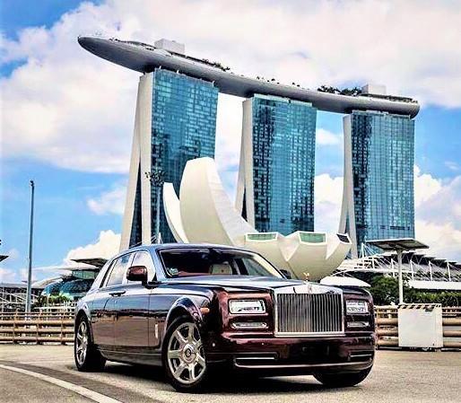 Rolls Royce Phantom Series ii Limousine   Wedding Car Services