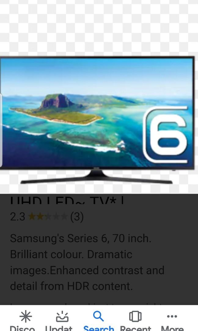 SAMSUNG SERIES 6 55″139CM UHD 4K LED SMART TV_UA55KU6000