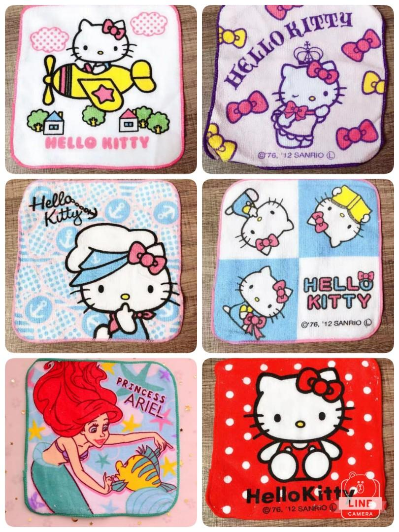 Sanrio/ Tsum Tsum/ Ariel Etc Towel Handkerchief