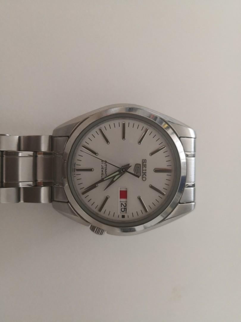 quality design b46b1 507b4 Seiko 5 SNKL41K1, Men's Fashion, Watches on Carousell