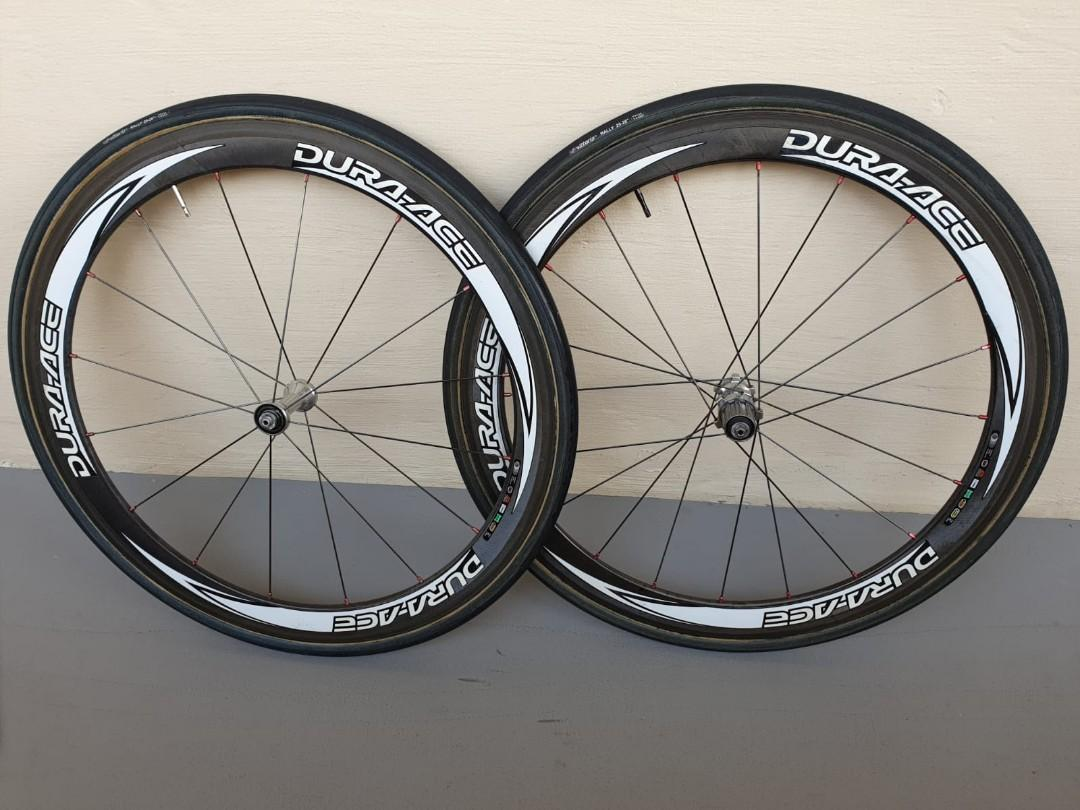 SHIMANO Dura Ace Carbon Tubular 50mm Wheelset