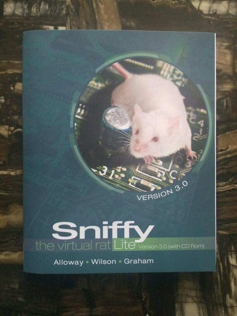 Sniffy: The Virtual Rat (Lite Version 3.0 with CD Rom)