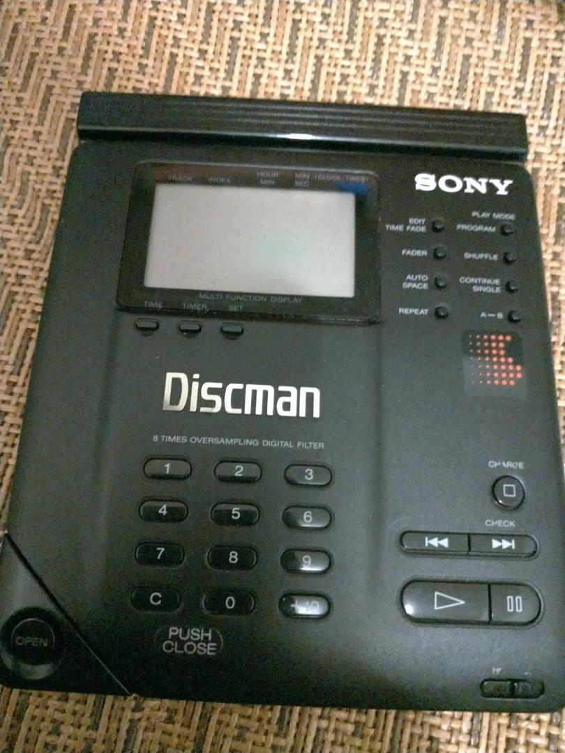 Sony D350 CD player