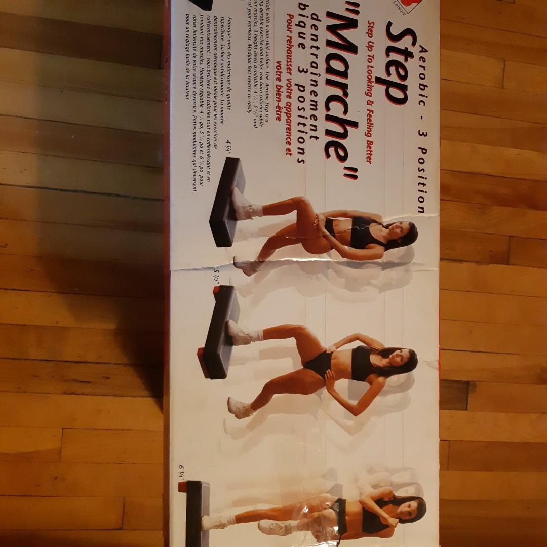 Step Exerciser. NEW.