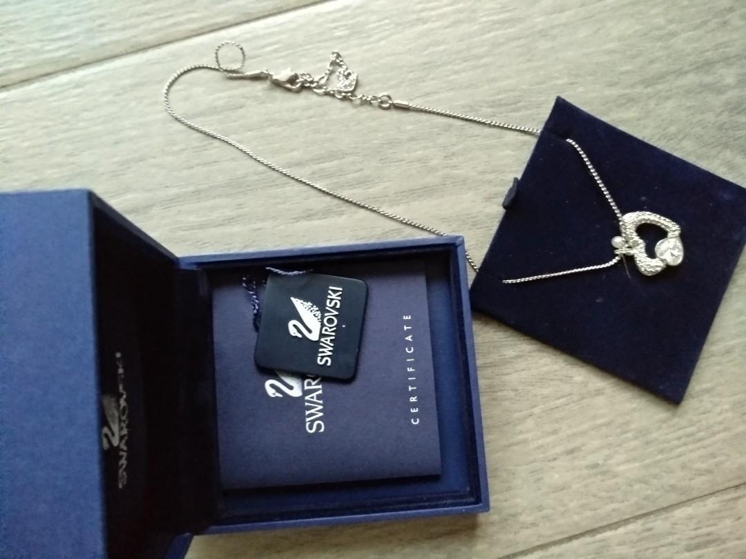 Swarovski 心型頸鏈 necklace