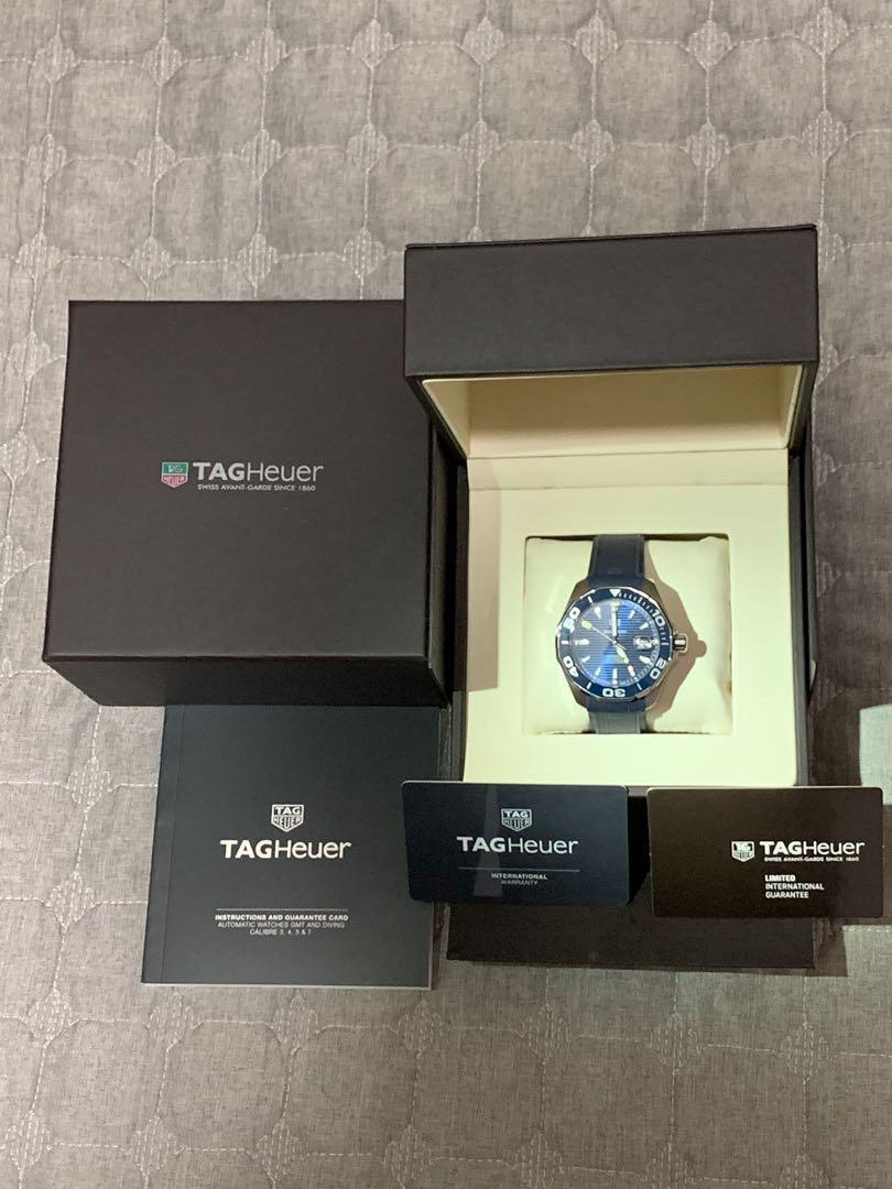 TAG HEUER AQUARACER Calibre 5, Diving Men's Watch,  Case Size 43mm, For Sale