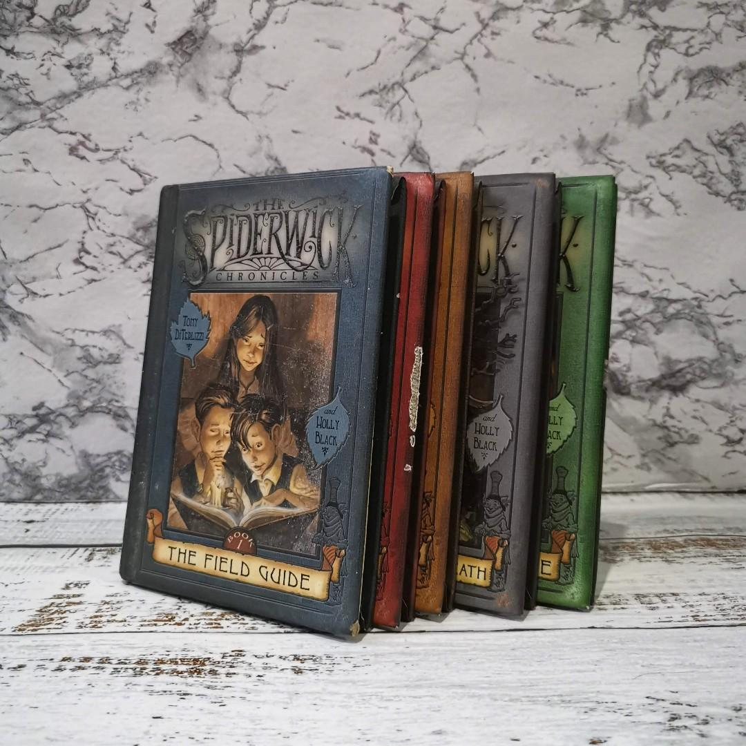 The Spiderwick Chroincles (Complete Hardbound) by Tony Diterlizzi and Holly Black