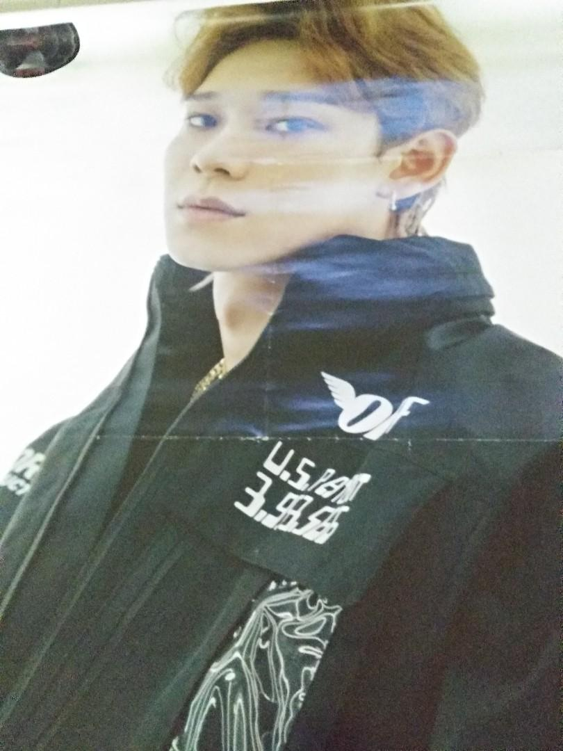 [WTS] EXO CHEN POSTER DON'T MESS UP TEMPO VIVACE VER.