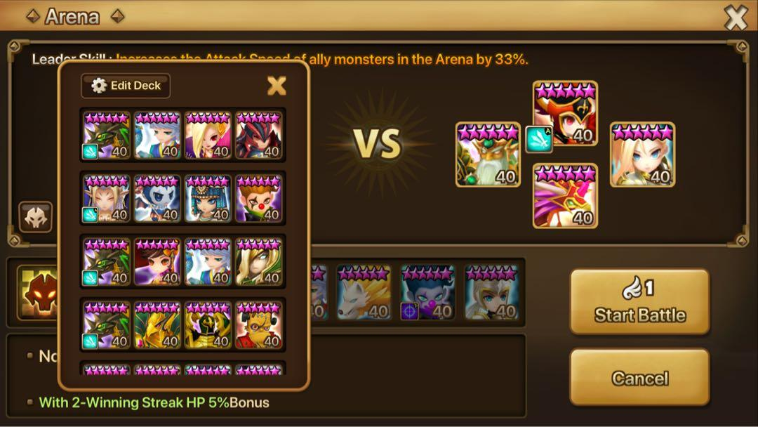 RUSH SALE C3 Asia Summoners War Account, Toys & Games, Video