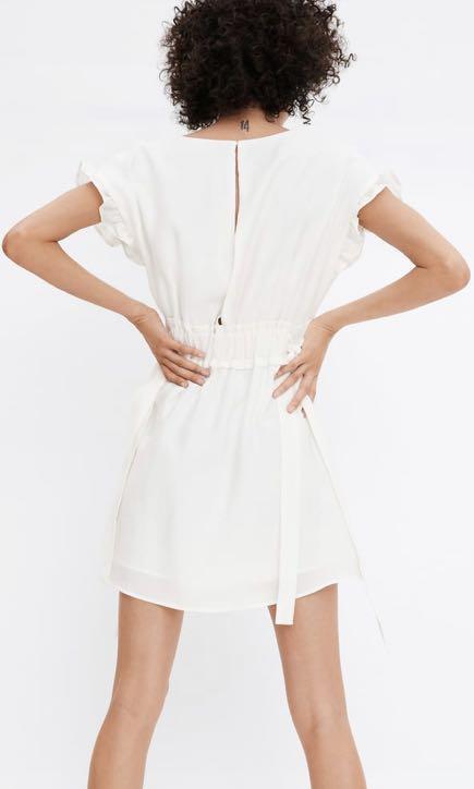 Zara new with tags white dress