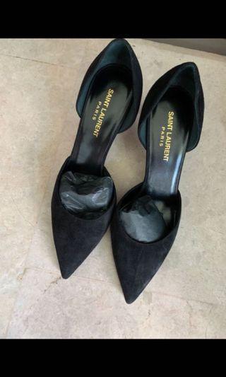 Brand New Black Saint Laurent Shoes Us 38