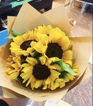 Flowers - Sunflower Bouquet