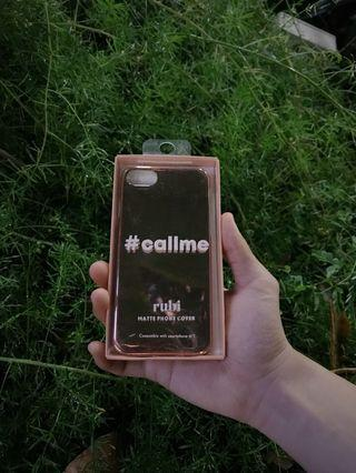 Rose Gold Reflective iPhone Case