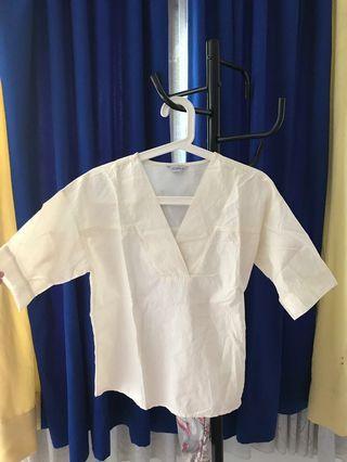 CLOTH DC BLOUSE
