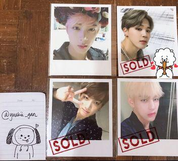 [WTS] BTS Wings Official Photocards