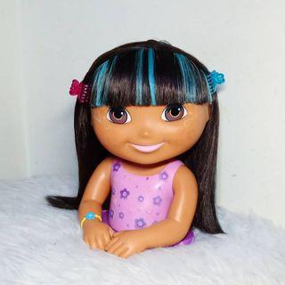 Dora the explorer styling Head