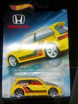 Hot Wheels Honda EF Honda Series
