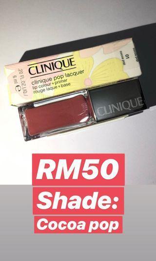 Clinique lips gloss