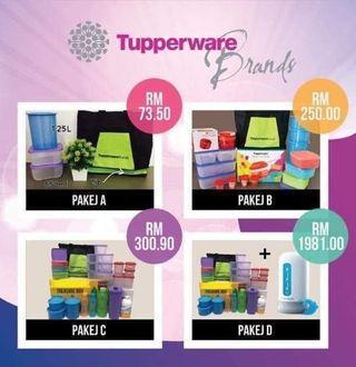 Tupperware pakej
