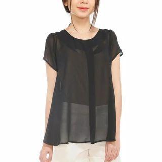 Black Blouse   Baju Murah