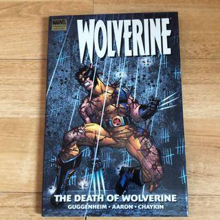 """Wolverine """"death of wolverine"""" comic books hard cover"""