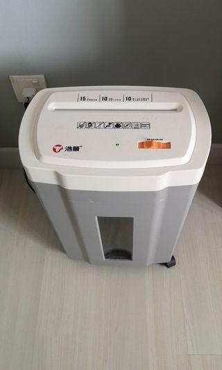Paper Scrap Machine