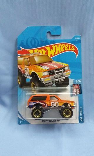 Chevy Blazer 4x4 Trucks Hot Wheels Hotwheels