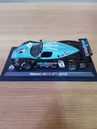 7-11 瑪莎拉蒂模型車