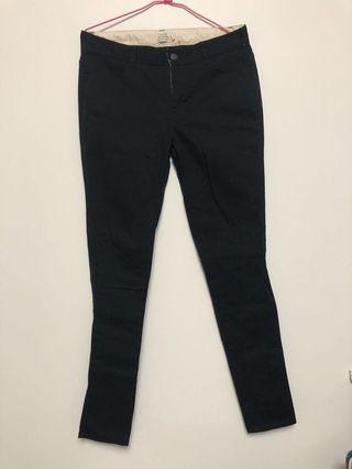 ❗️含運費❗️GIORDANO 黑色長褲
