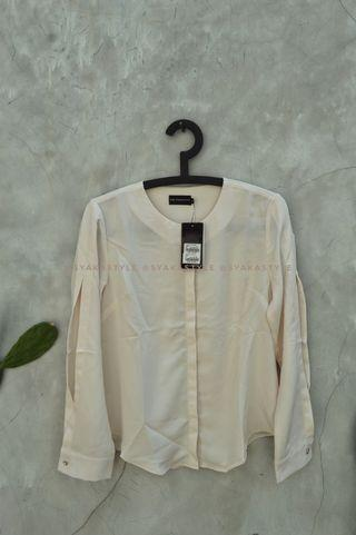 Broken White Blouse by The Executive