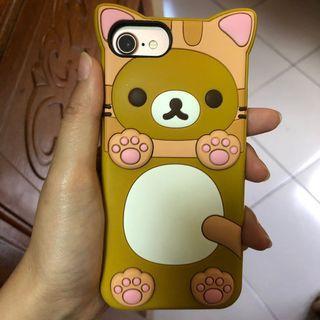 apple iphone 7/8 正版授權拉拉熊手機殼