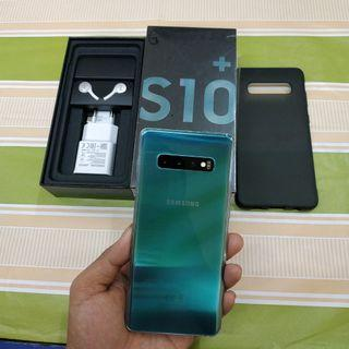 Samsung galaxy S10 Plus 128gb prism green SEIN like new