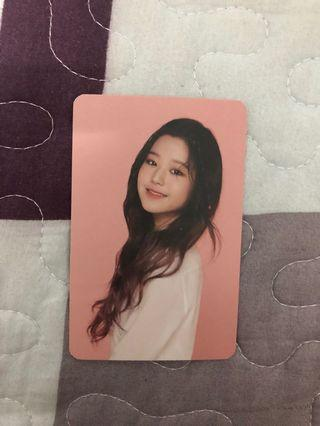 WTS// IZONE WON YOUNG 1ST OFFICIAL FANCLUB PHOTOCARD
