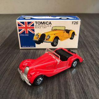 Tomica Tomy Tomytec 青盒 青箱 黑箱 外國車 F26 Morgan Plus 8 Nissan Mazda 日製 拖車 油車 Type R EK9 MR2 vintage Ferrari mclaren